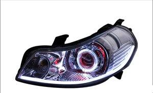Image 4 - 2007 ~ 2012y רכב bumer ראש אור לסוזוקי SX4 פנס אביזרי רכב LED DRL HID קסנון ערפל לסוזוקי SX4 פנס