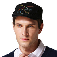 Beads And Berets Spring And Summer Hand Sewing Thick Line Sports Cap Must Be Selected Tide