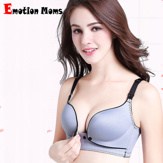 Emotion Moms Maternity Nursing Bra Wire Free Feeding Underwear for Pregnant  Women Breastfeeding Bras Maternity Clothes