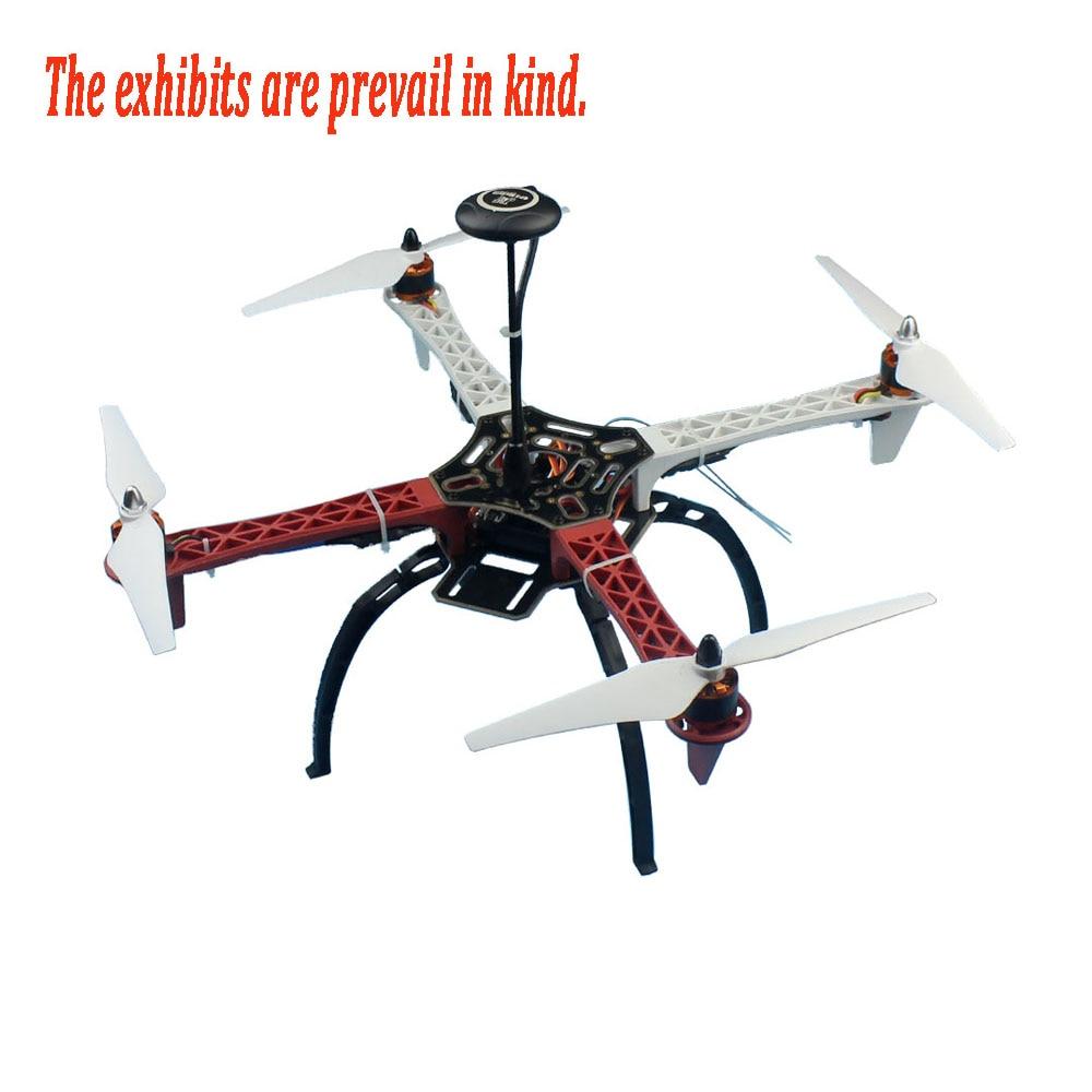 F02192-Y Full Set RC Drone Quadcopter Aircraft Kit 2.4G 6ch F450 V2 Frame GPS APM 2.8 Flight Control Flysky FS-i6 Transmitter