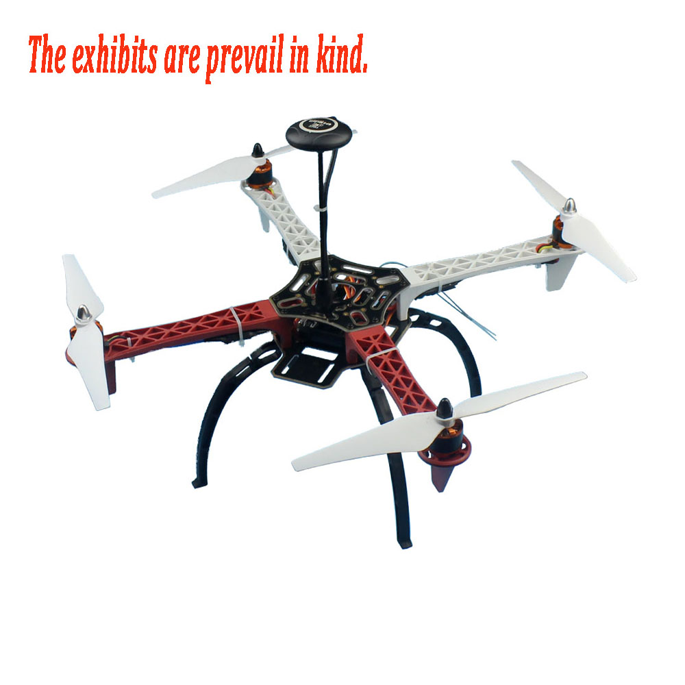 F02192-Y Kit Complet RC Drone Quadcopter Avions Kit 2.4g 6ch F450 V2 Cadre GPS APM 2.8 Vol Contrôle Flysky FS-i6 Émetteur