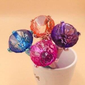 Image 5 - 48 sztuk/partia diament kryształ długopis kreatywne artykuły piśmienne długopis studenci biuro szkolne pióro promocja party prezent wysokiej jakości