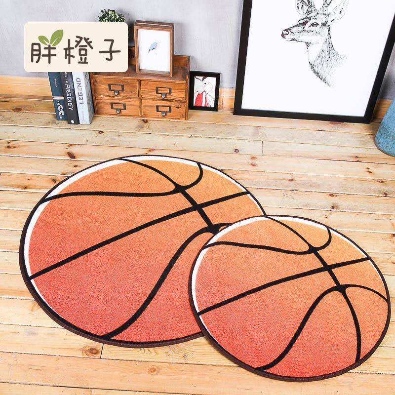 Aliexpress.com : Buy Round Basketball Football Rug Floor