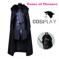2017 Game Of Thrones Cartoon Clothing Jon Snow Song Of Ice And Fire Halloween Costumes For