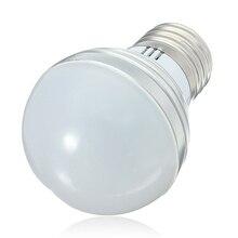 E27 Светодиодный светильник 16 цветов 3 Вт 5 Вт 7 Вт 110 В 220 в 230 В волшебный RGB светодиодный светильник RGB лампа 24key ИК пульт дистанционного управления