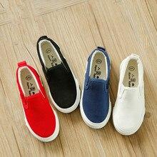 Children Canvas Shoes Girls Shoes Boys S
