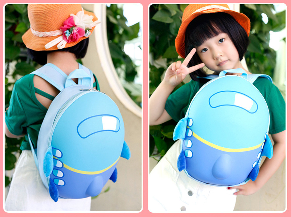 Kids Airplane Pattern Backpack