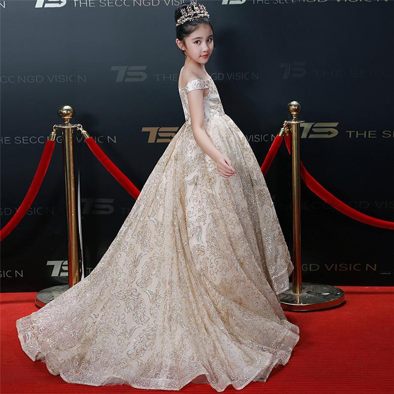 vestido de princesa sereia noite vestido da adolescente 05