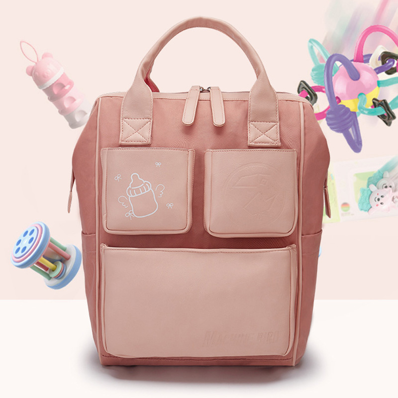 2018 New Fashion Diaper Stroller Bag Waterproof Travel Maternity Mommy Backpack High Quality Mommy Bag Desiger Nappy Backpack