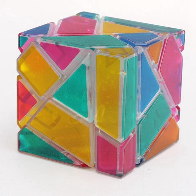 Zcube 3x3x3 Velocidad Cubo Cubos Mágicos Fantasma Transparente Rompecabezas Juguetes Educativos Para Niños de Los Niños