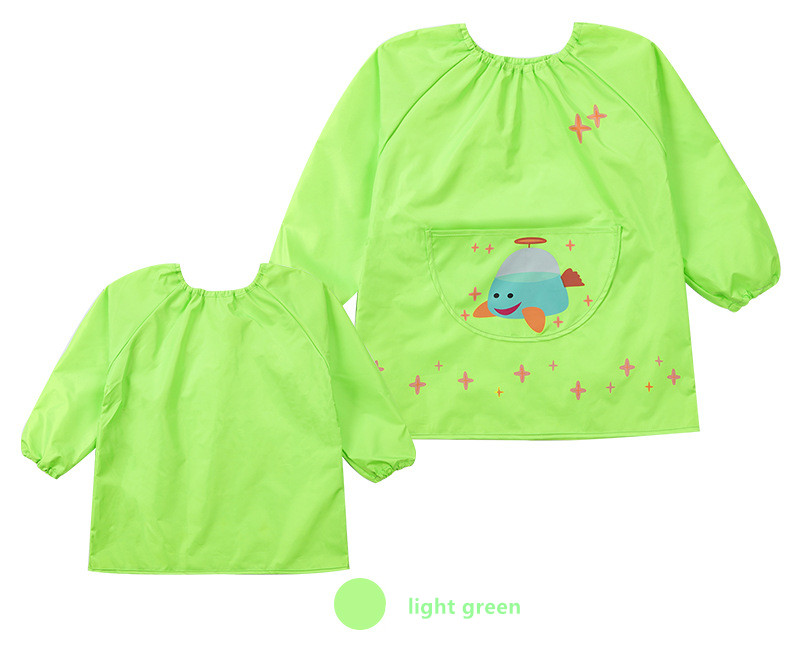 85-140CM Cartoon waterproof raincoat for children kids baby rain coat poncho boys girls Painting clothes, playing water clothing
