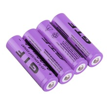 4pcs/set 18650 3.7V 9800mAh Rechargeable Li-ion Battery for LED Torch Flashlight Portable Replacement Battery For Torch