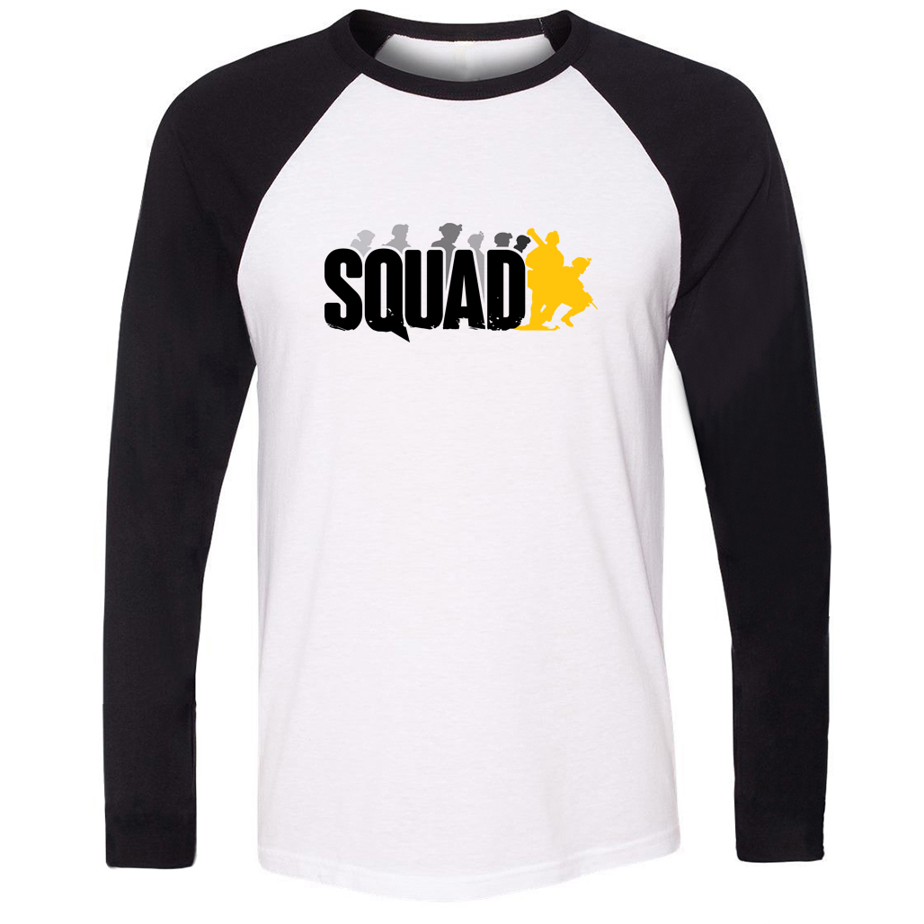 Suicide Squad Design T-Shirt For Men boys girls long sleeves Tee Tops Gift Creative Letters Printed Tee