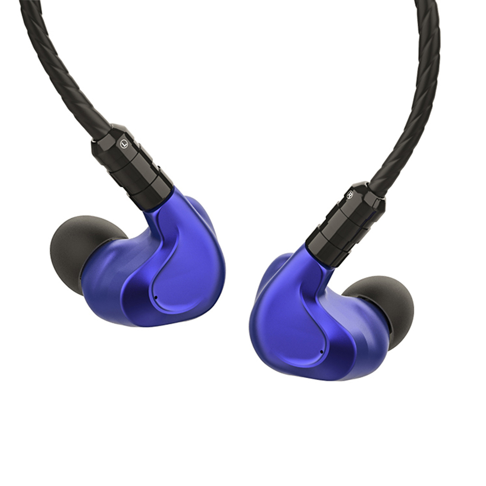 BGVP DMG 2DD + 4BA Hybride Pilotes In-Ear Écouteurs En Métal Haute Fidélité Moniteur avec Détachable MMCX Câble Audio et Trois buses