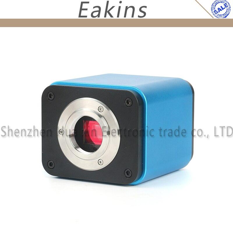 Autofocus 1080 p 60FPS CAPTEUR SONY IMX185 HDMI WIFI Vidéo L'industrie Autofocus Microscope Caméra C-mount Pour PCB SMD SMT Réparation