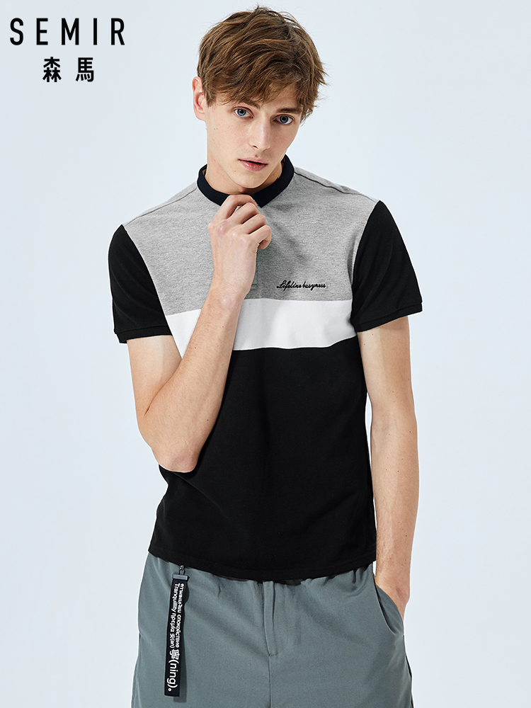 SEMIR Brand New Fashion Men   Polo   Shirts 2019 Summer Luxury horse embroidery Breathable Camisa Masculina Soft Cotton solid   Polo   M