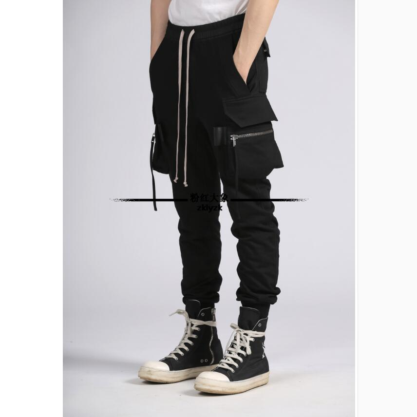 28-46 2019 Spring And Summer New Men Clothing Casual pants thin section Cannonball Pants Elastic waist Pants Plus Size Costumes