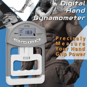 Image 2 - KYTO dijital el dinamometresi kavrama gücü ölçüm cihazı otomatik yakalama el Grip güç 200 Lbs/90 kg