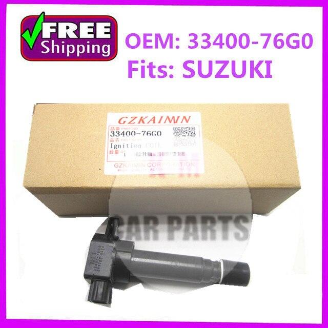set 4 high quality ignition coil pack oem33400-76G0 For Suzuki ALTO Mk III WAGON R+ 1.0 099700-0581 099700-0340 33400-76G00