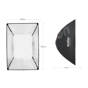 "Image 3 - Godox  60 x 90cm 24""x 35"" Speedlite Studio Strobe Flash Photo Reflective Bowens Mount Softbox Diffuser for DE300 DE400 SK300"