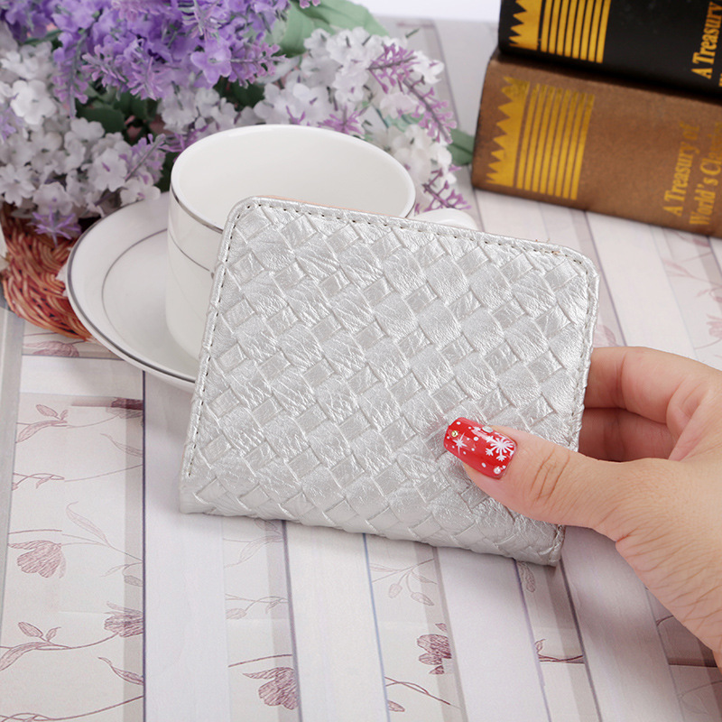 2019 new female students Mini Wallet with thin buckle in Wallets from Luggage Bags
