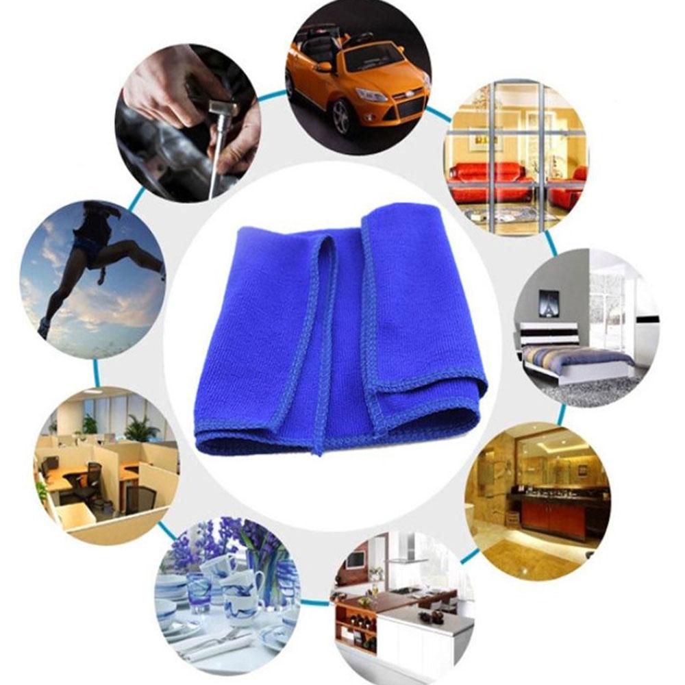 5 шт. Чистка автомобиля мягкая ткань для мытья автомобиля Carcare тканевые салфетки кухонные чистящие Полотенца чистка