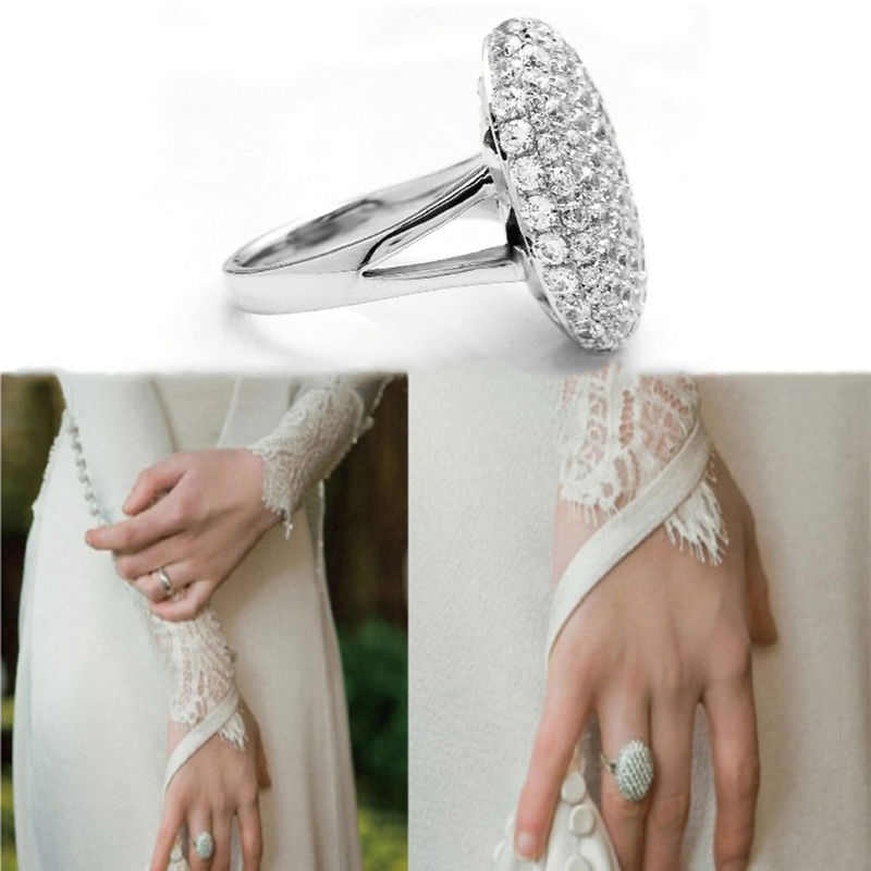 Crystal Jewelry The Twilight Breaking Dawn Bella Wedding Rings Fashion Wedding Rings Engagement Ring For Women Gifts