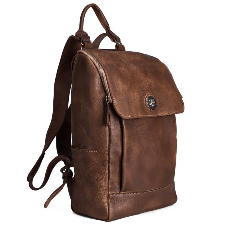 Рюкзак із шкіряного шкіряного - Рюкзаки - фото 2