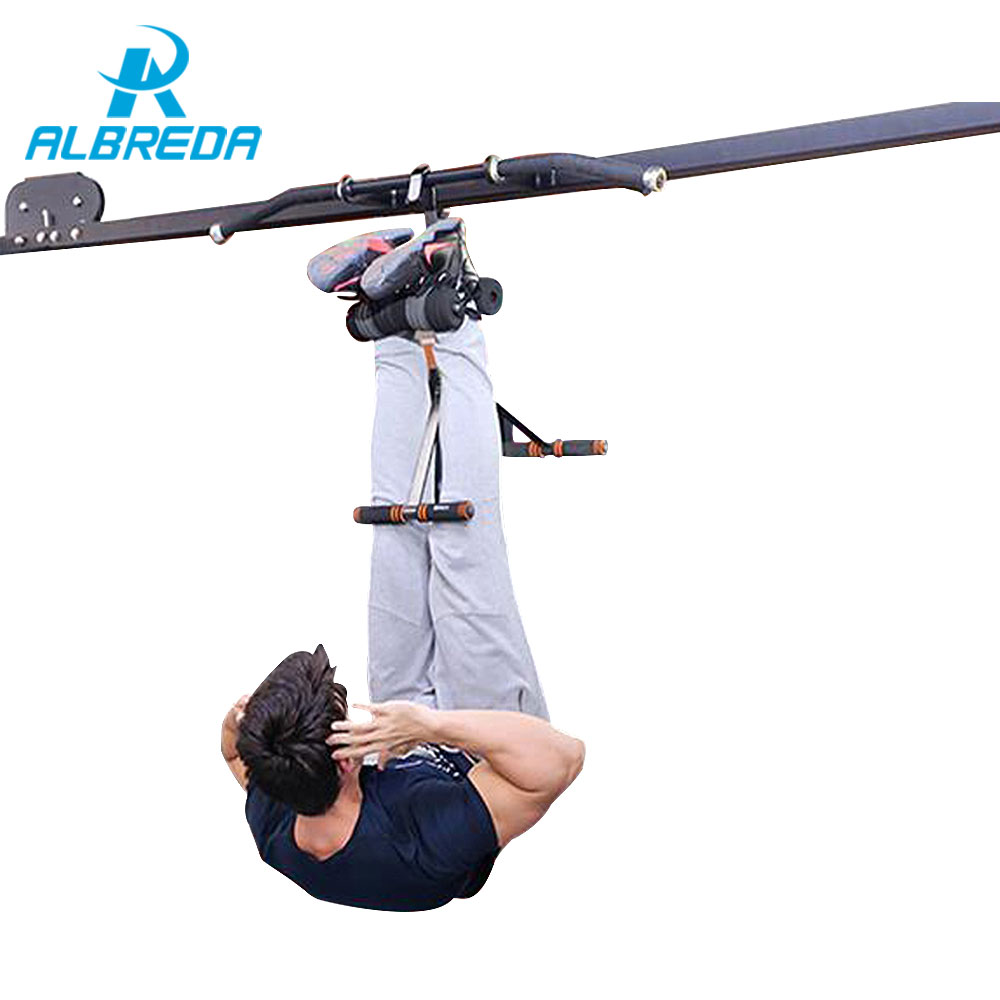 ALBREDA Handstand machine fitness equipment for home Inversion device training Equipment workout exercise body building trainer 1005f fitness equipment ultrathin body massager power board exercise power plate for slimming blood circulaation machine 220v