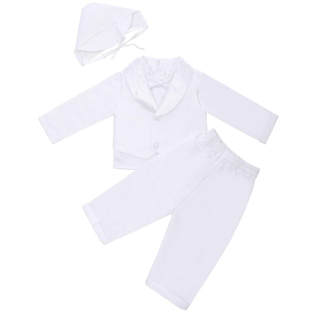 4 pcs Set Del Bambino Dei Vestiti Del Ragazzo Signore di Cerimonia Nuziale di Compleanno Del Partito di Vestito Del Bambino Battesimo Abiti per la Torta Smash Ragazzi Svegli Vestiti set