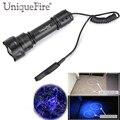UniqueFire UF-T20-UV365 Ultra Violet LED Фонарик Домашних Животных Мочи и Пятен Детектор 12 Ультрафиолетового Led Torch + Крысиный Хвост