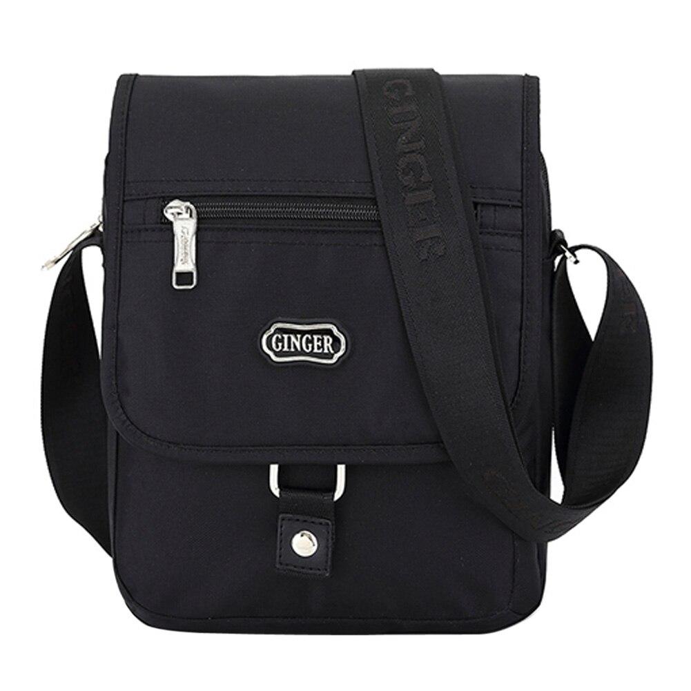 ФОТО 2017 Fashion Men Casual Messenger Crossbody Bag High Quality Oxford Men's Shoulder Bags Business Men's Briefcase Travel Bags