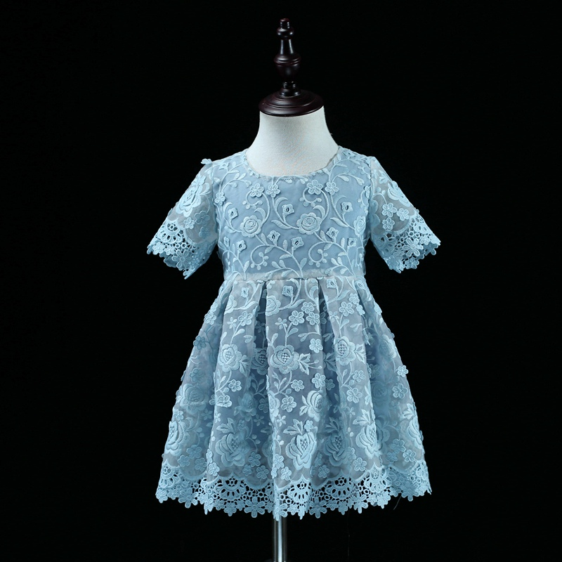 ФОТО Brand mom and baby girls matching dress family look clothes children embroidary organza skirts mother and daughter party dresses