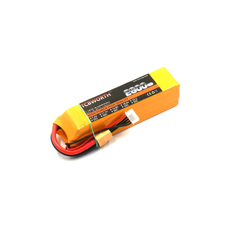 TCBWORTH lipo battery 18.5v 2600mAh 25C 5s FOR RC airplane free shipping lipo battery 18 5 v 3500mah 25c 5s for rc airplane free shipping