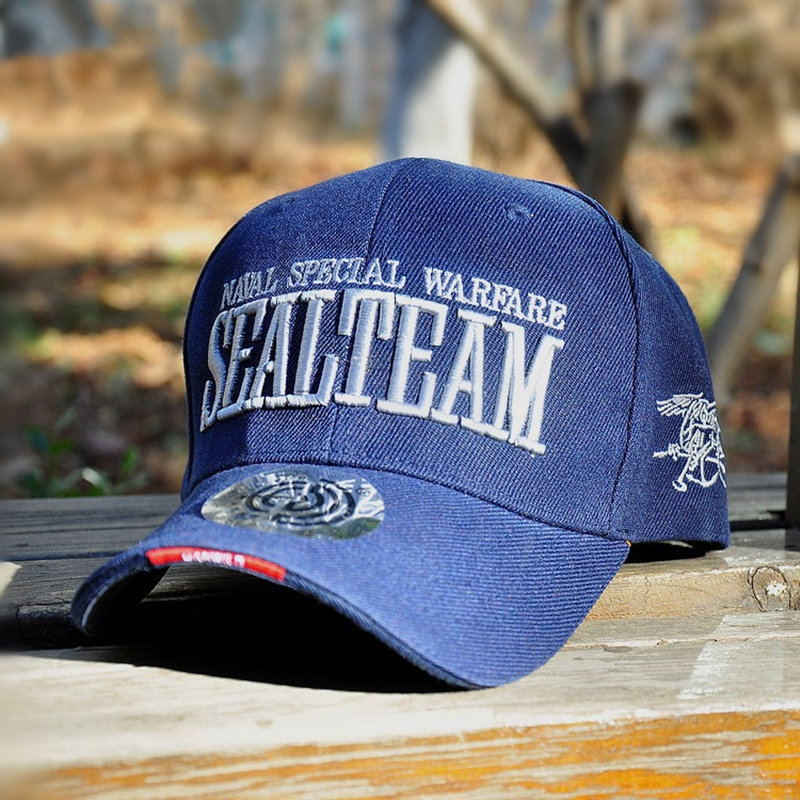 New Fashion Brand Asli Baru Hot US Army Baseball Caps Navy SEGEL Pria - Aksesori pakaian - Foto 3