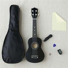Несколько цветов 21 «сопрано Гавайские гитары укулеле липа нейлон 4 Strings гитары ra акустическая бас наряд музыкальный инструмент для Beginne