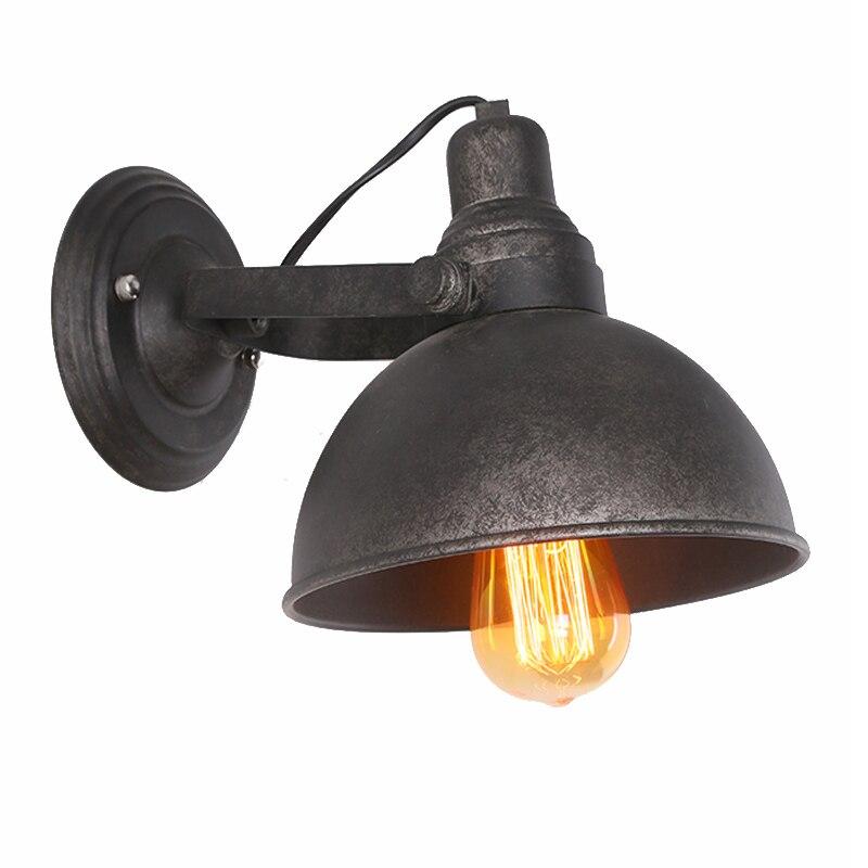 Lamps & Shades Wall Lamps Humor Loft Industrial Adjustable Iron Wall Lamps Long Swing Arm Vintage Wall Lights For Aisle Corridor Restaurant Bar Lighting Fixture