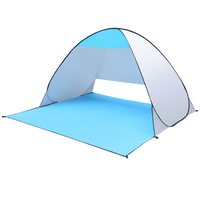 Newly Foldable Quick Automic Opening Beach Tent Fishing Tents Waterproof UV Protection Camping Sun Shelter FMS19