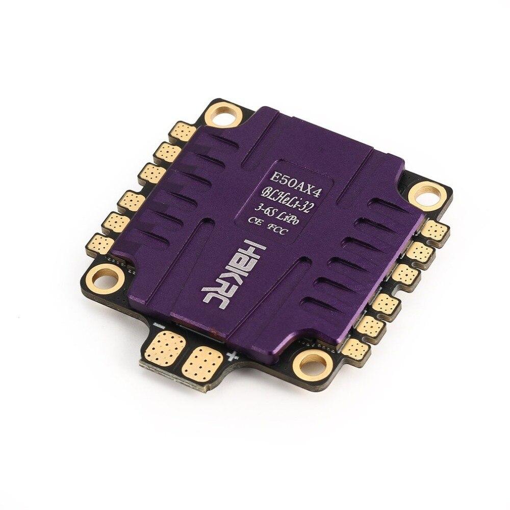 E50AX4 50A 3-6 S BLHeli_32 5 V 3A BEC PCB Dshot1200 4 en 1 ESC pour RC modèles Multicopter Drone de course cadre bricolage partie accessoires