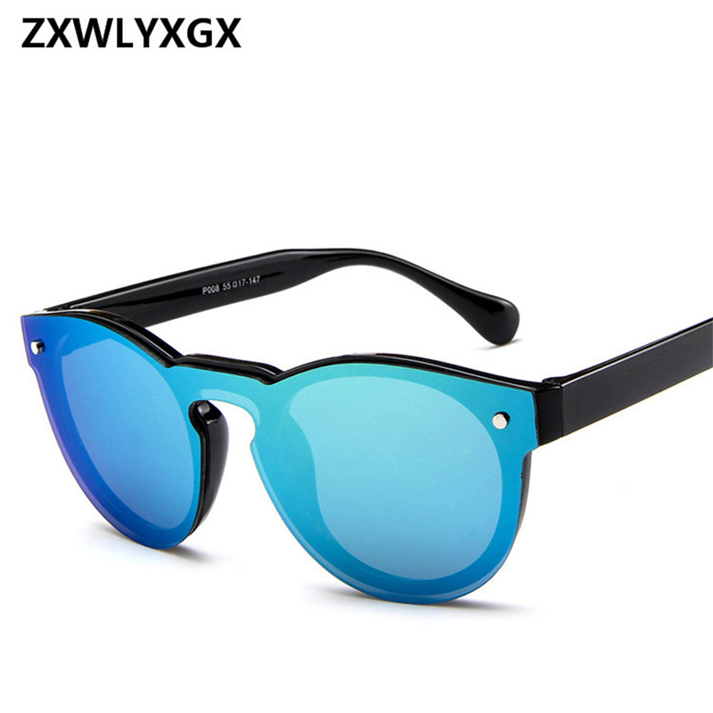 ZXWLYXGX 2018 Fashion Star Adult Mirror Goggle Rushed New Sunglasses Women  Brand Sun Glasses Oculos De f17326c5fc
