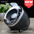 Jebely Preto Único Watch Winder para relógios automáticos Dobadoura do Relógio automático enrolador Multi-função 5 Modos 1