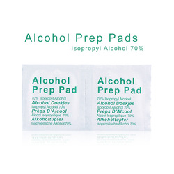 Portable Useful 100PCS Professional Alcohol Swabs Pads Wet Wipes 70% Isopropyl First Aid Home Skin Cleanser Sterilization
