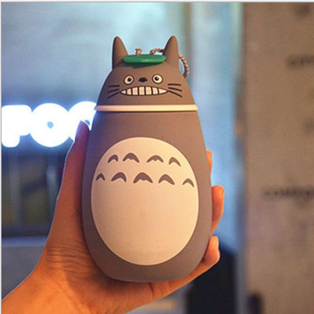 High Quality Totoro Insulation Cup Stainless Steel Vacuum Flask