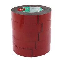 5Pcs 30x2mm Double Sided Sponge Tape Adhesive Sticker Foam Glue Strip Sealing 5M
