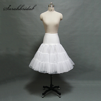 Crystal Gauze Boneless Petticoat  3 Layer Bridal Accessories Rock Ball Gowns Petticoat Tutu Wedding Dress Underskirt 12018
