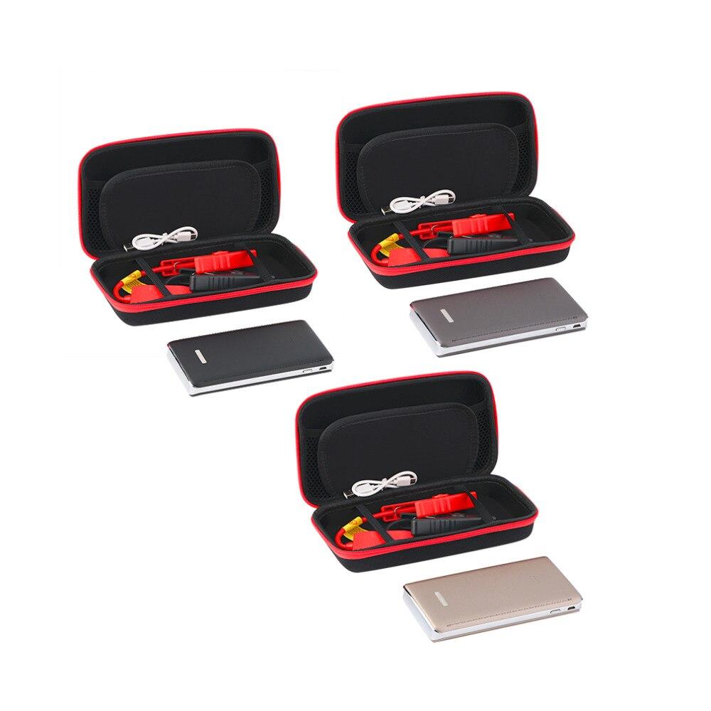 imágenes para 3 colores 8000 mAh 12 V Portátil Mini Coche Salto de Arranque Banco de la Energía de Refuerzo Productos Cargador de Baterías para la Gasolina y Diesel