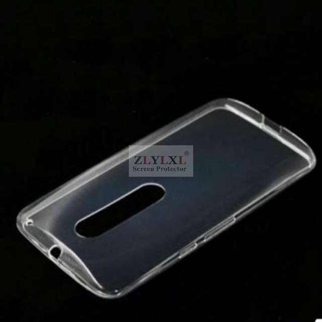 free shipping 67491 4234b US $1.25 |soft thin ice phone Transparent Clear TPU bag back cover Silicone  Case for Motorola moto X Play-in Half-wrapped Case from Cellphones & ...