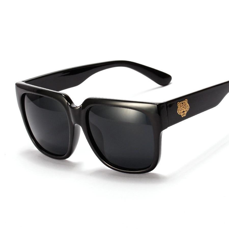 Mens Sunglasses Large Head - 2015 korean lee minho square sunglasses men tiger head big frame sun glasses women fashion brand oculos vintage gafas de sol in sunglasses from men s