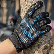 New 3D Breathable Motorcycle Gloves Moto Off Road Motorbike Full Finger Touch Screen Sport Motocross Glove