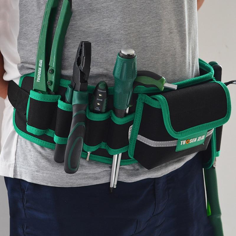 Multi-function waterproof tool bag finishing backpacks Kit package electrician maintenance belt waist tools free shipping sale